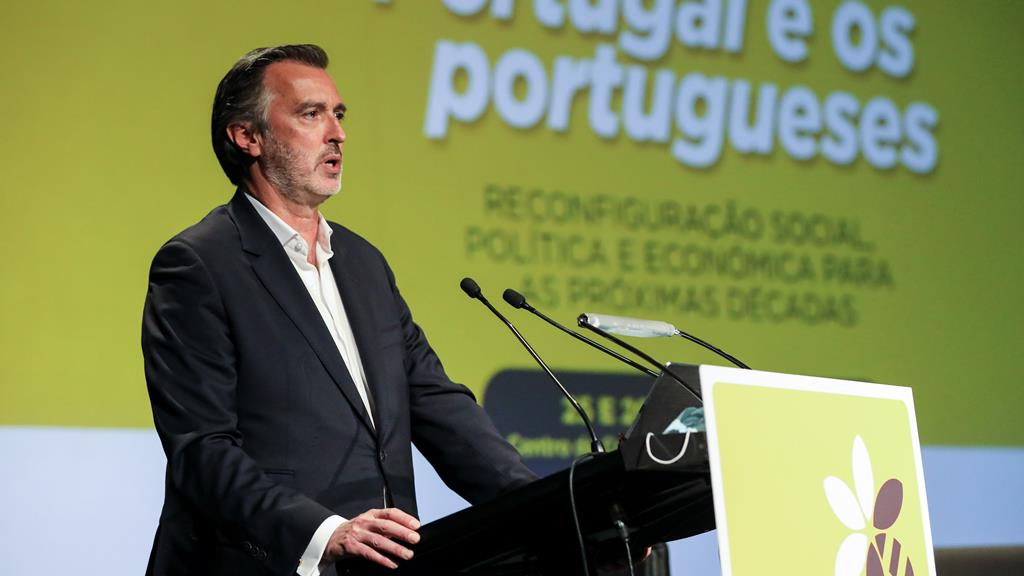 João Cotrim Figueiredo criticou Rui Rio. Foto: Lusa