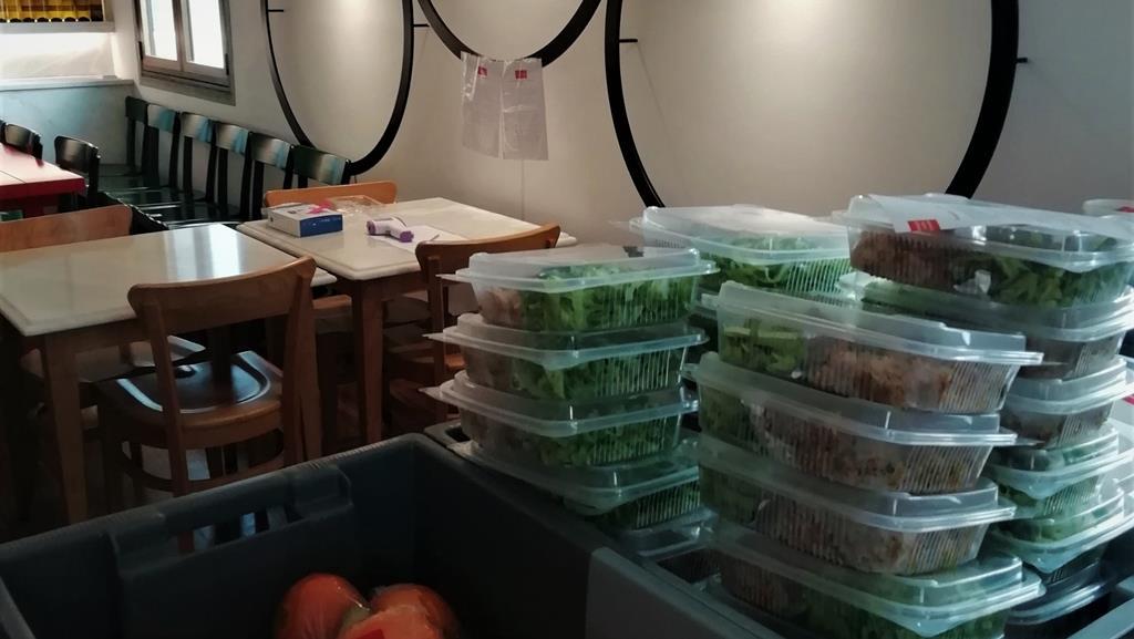 Desde que foi criada a cozinha social da Fundação Eugénio de Almeida, em Évora, já distribuiu quase 31 mil refeições. Foto: FEA