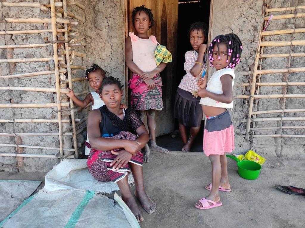 Mais de 950 mil pessoas passam fome severa, em Cabo Delgado. Foto: Oikos