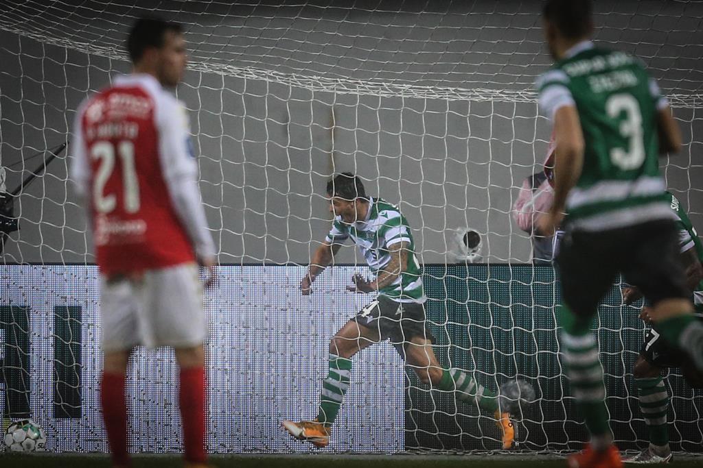 Só poderá haver adeptos de Sporting e Braga no estádio. Foto: Paulo Cunha/EPA