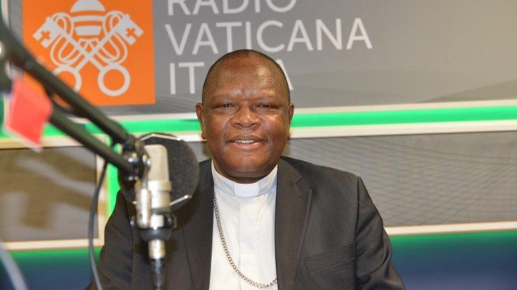 D. Fridolin Ambongo, cardeal arcebispo de Kinshasa na República Democrática do Congo. Foto: Vaticano News