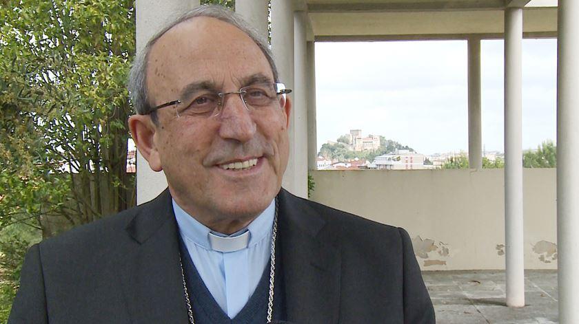 D. António Marto diz que era inevitável suspender as missas. Foto: DR