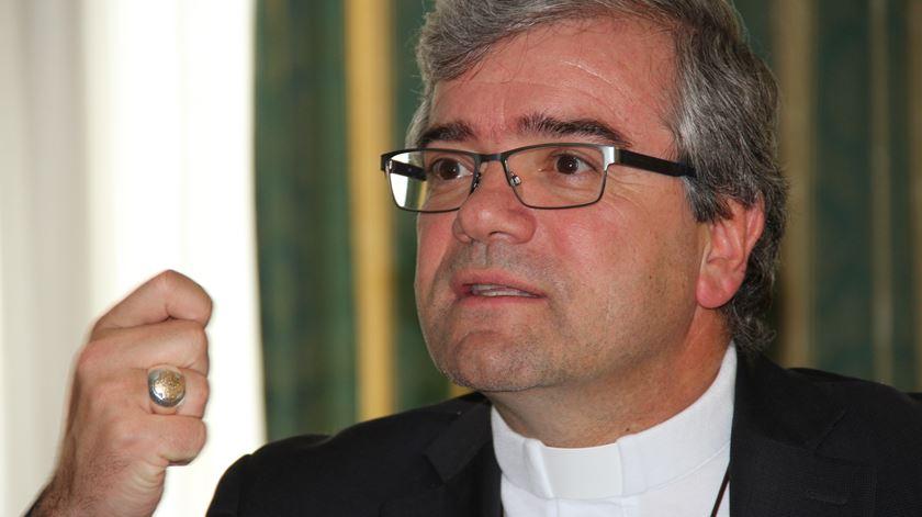 D. José Cordeiro já instituiu uma comissão para lidar com casos de abusos sexuais. Foto: Manuel Costa/Ecclesia