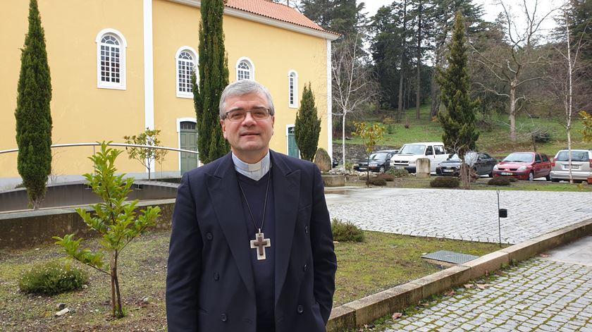 D. José Cordeiro, bispo de Bragança-Miranda. Foto: Olímpia Mairos/RR