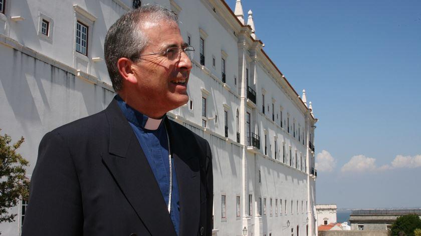Dom José Traquina, bispo de Santarém. Foto: Patriarcado de Lisboa