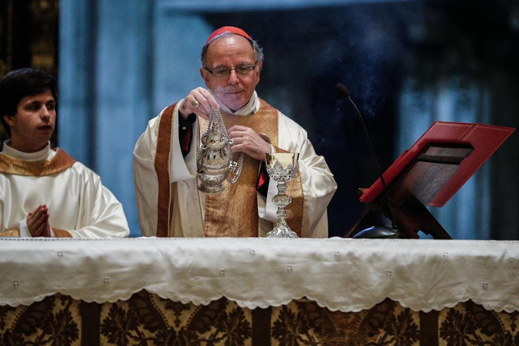 D. Manuel Clemente, cardeal patriarca de Lisboa. Foto: António Cotrim/Lusa