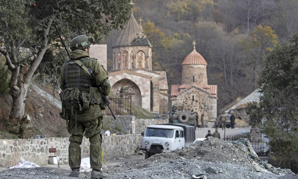 Nagorno-Karabakh é palco de um conflito entre Arménia e Azerbaijão. Os dois países serão visitados pela imagem da Virgem Peregrina de Fátima em 2021. Foto: Stringer/Reuters