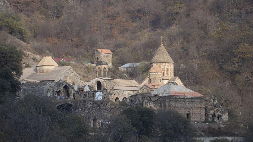 O mosteiro Dadivank, em Karvachar/Kalbajar, Nagorno-Karabakh. Stanislav Krasilnikov/TASS