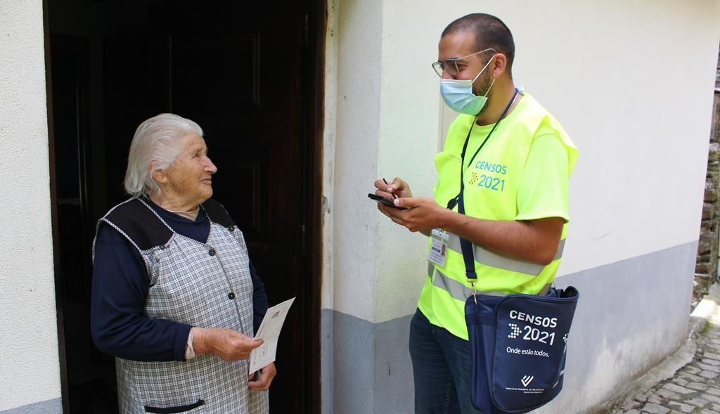 Mais de 3,7 milhões de alojamentos já responderam aos Censos. Foto: Liliana Carona/RR
