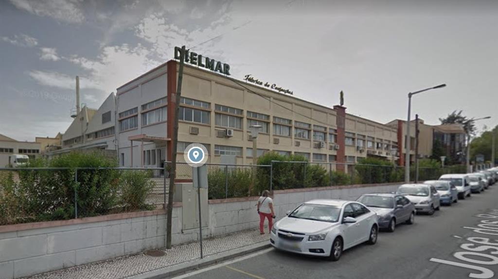 Fábrica da Dielmar em Alcains. Maioria dos trabalhadores é de Castelo Branco. Imagem: Google Maps