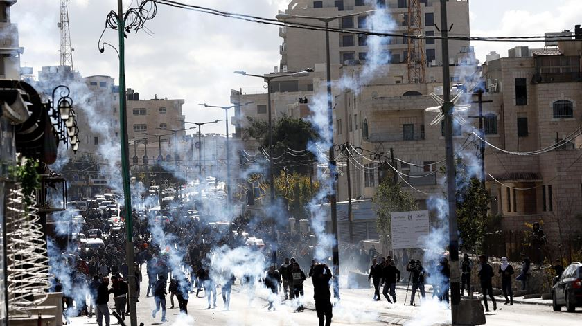 Belém, Cisjordânia. Foto: Abed Al Hashlamoun/EPA