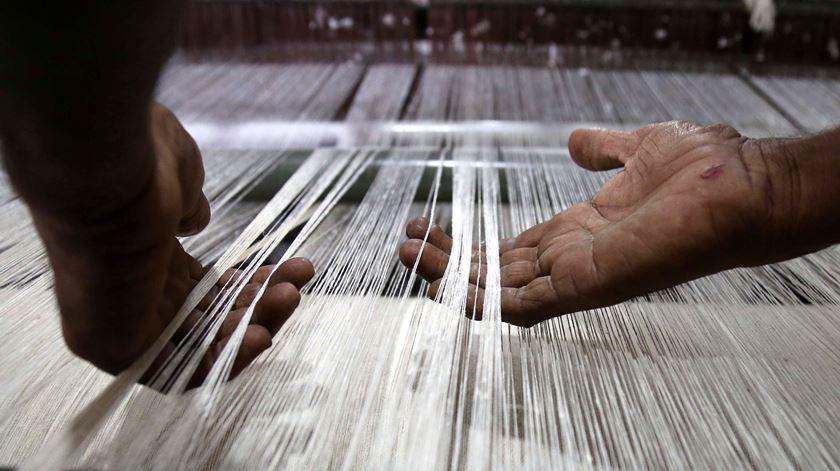 O setor têxtil está a perder nas exportações para Inglaterra. Até ao momento avalia-se em 70 milhões de euros ao ano.