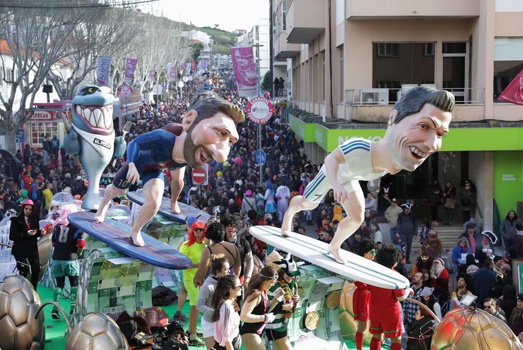 É apenas a segunda vez em quase um século que o Carnaval de Torres é cancelado. Foto: António Cotrim/Lusa