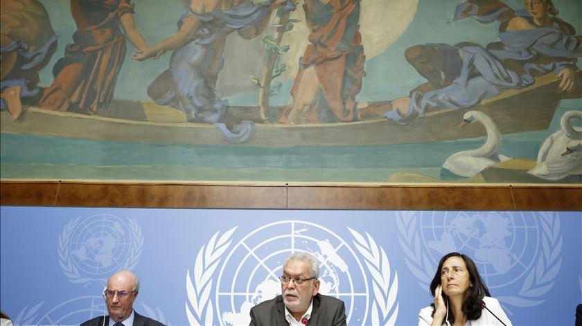 Peritos da ONU apresentaram primeiras conclusões. Foto: Salvatore di Nolfi/EPA