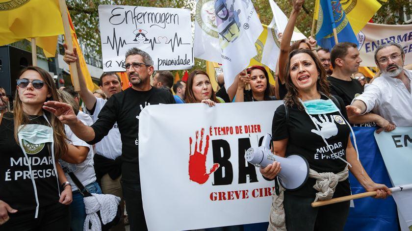 """""""Estou do lado dos enfermeiros, mas há formas de greve que vão longe demais."""" Foto: Rodrigo Antunes/Lusa"""