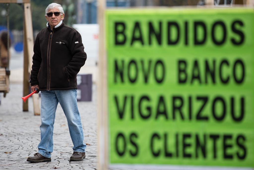 Espanha manda Novo Banco devolver dinheiro a cliente do BES. Foto: José Coelho/Lusa