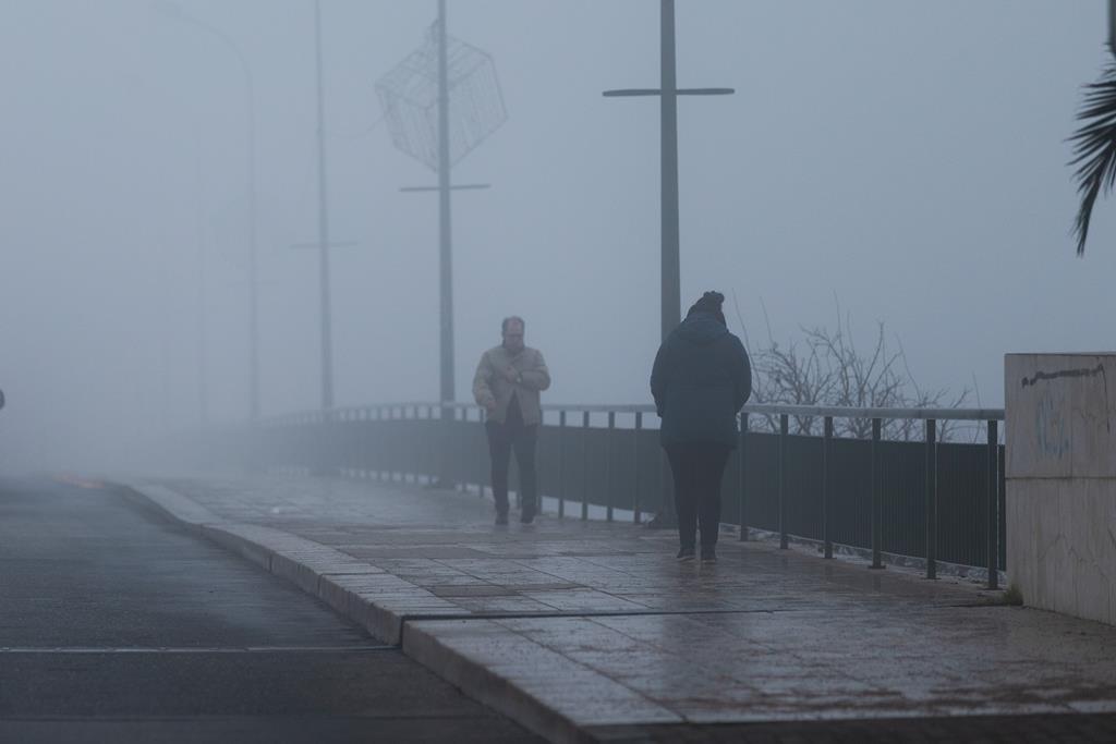 Proteção Civil prevê temperaturas mínimas muito baixas. Foto: Pedro Sarmento Costa/Lusa