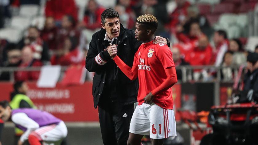 Bruno Lage conta com Florentino para o que resta da temporada. Foto: Mário Cruz/Lusa