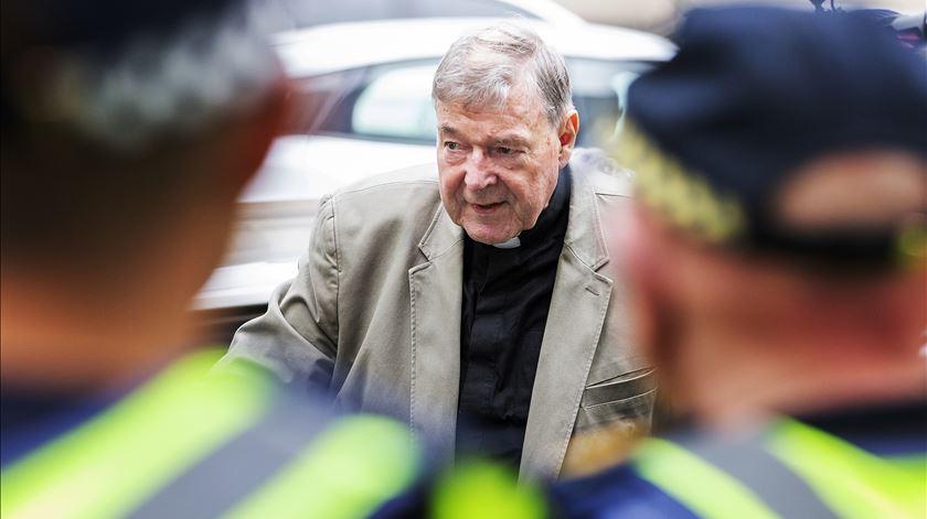 Cardeal arrisca uma pena máxima de 50 anos de prisão. Foto: EPA