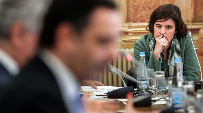 Ministra da Presidência, Mariana Vieira da Silva. Foto: Mário Cruz/Lusa