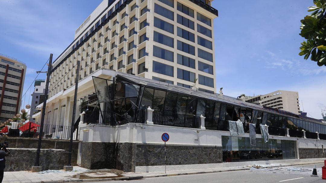 Um dos edifícios alvo dos ataques terroristas foi o Hotel Kingsbury, em Colombo, a cidade mais populosa do Sri Lanka.