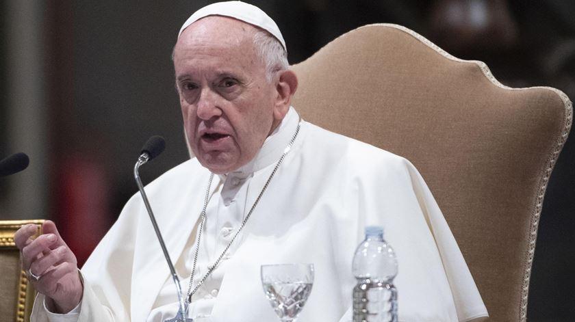 Papa Francisco quer um novo modelo económico. Foto: Maurizio Brambatti/EPA
