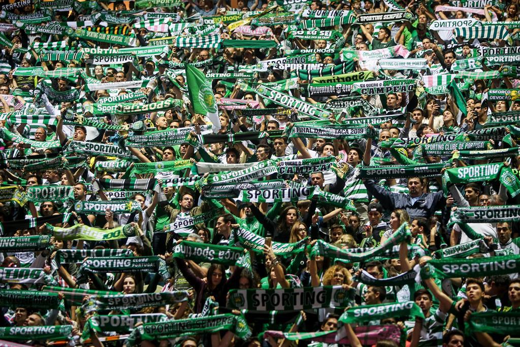 Sporting pode festejar título de campeão nacional diante do Boavista Foto: Nuno Fox/Lusa