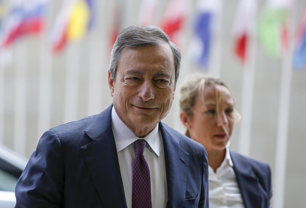 Mario Draghi. Foto: Julien Warnand/EPA