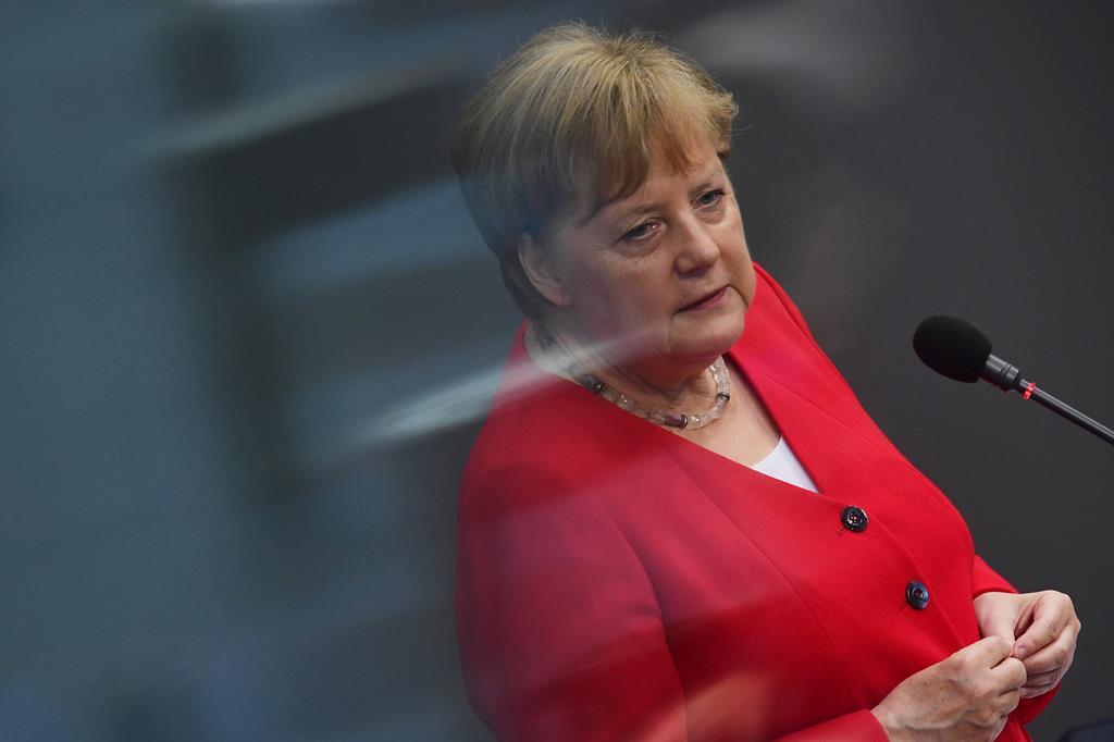 Angela Merkel. Foto: Clemens Bilan/EPA