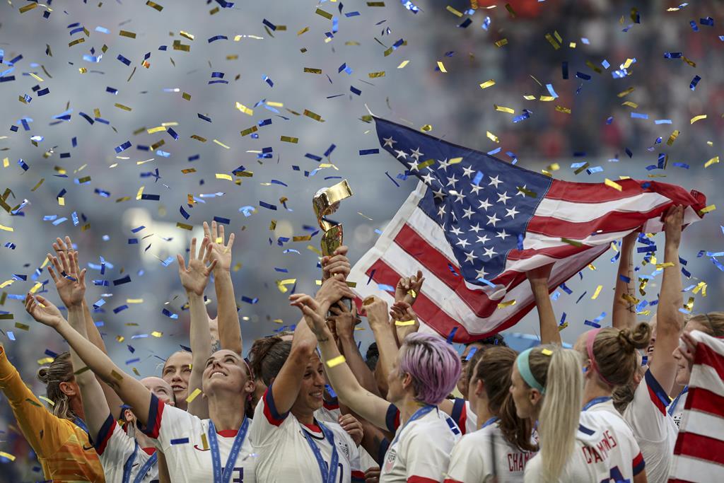 Seleção dos EUA é a vigente campeã do mundo. Foto: Ian Langsdon/EPA
