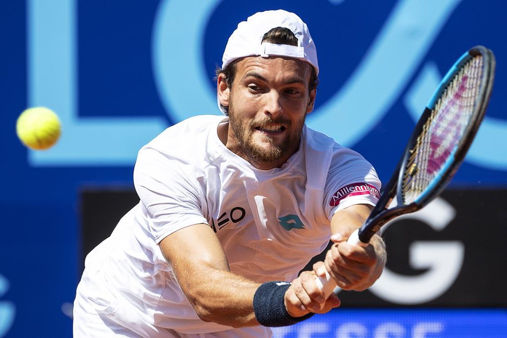 João Sousa é o melhor tenista português de sempre Foto: Peter Schneider/EPA
