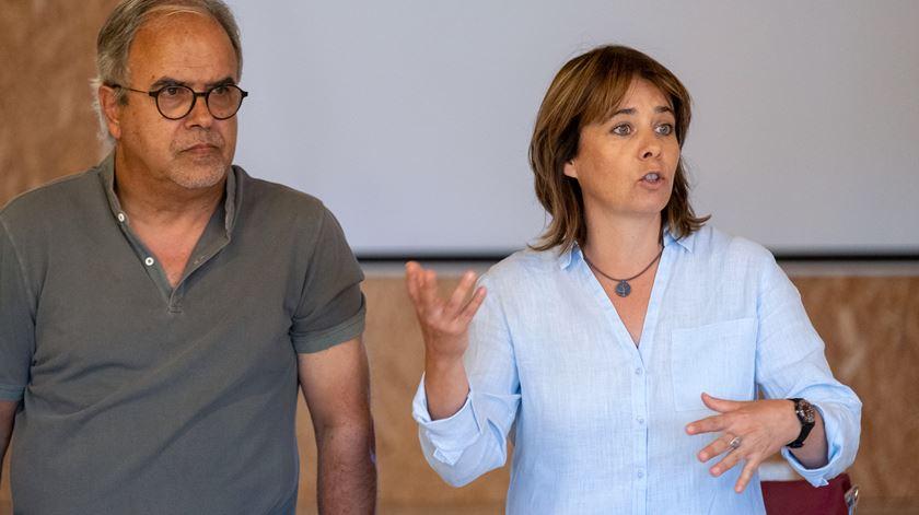 """""""Por uma questão de coerência com o programa eleitoral e com a campanha."""" Foto: Sérgio Azenha/Lusa"""