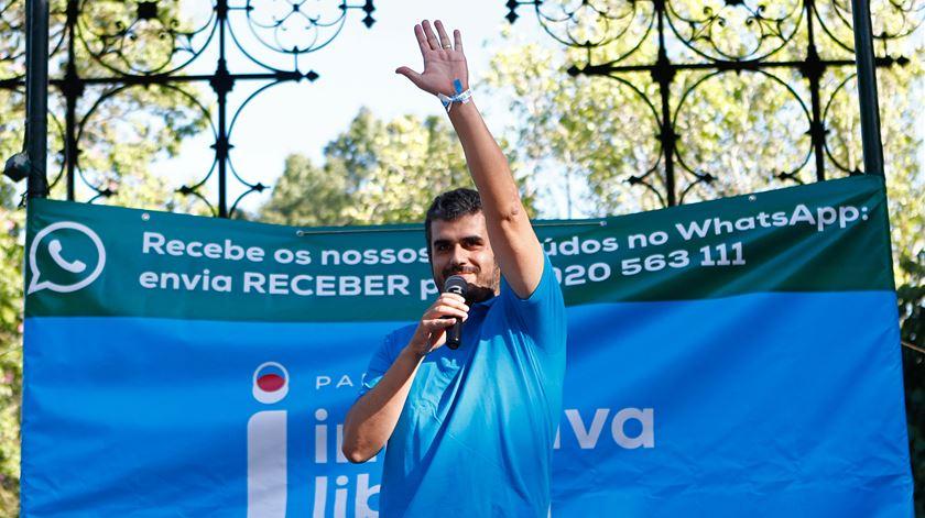 Carlos Guimarães Pinto, líder do Iniciativa Liberal Foto: António Pedro Santos/Lusa