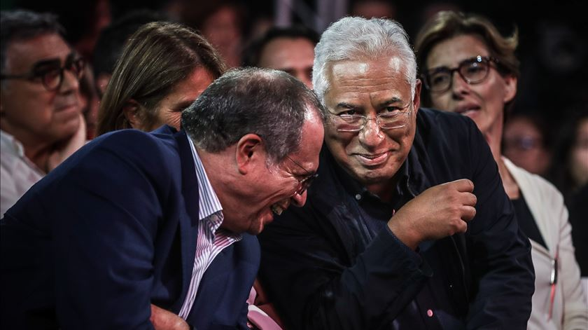 Carlos César e António Costa. Foto: Mário Cruz/Lusa