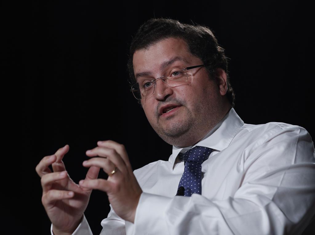 Joaquim Miranda Sarmento, presidente do conselho estratégico nacional do PSD. Foto: António Cotrim/Lusa