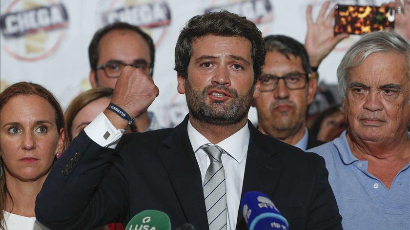 André Ventura congratula Vox por sucesso eleitoral. Foto: António Cotrim/Lusa