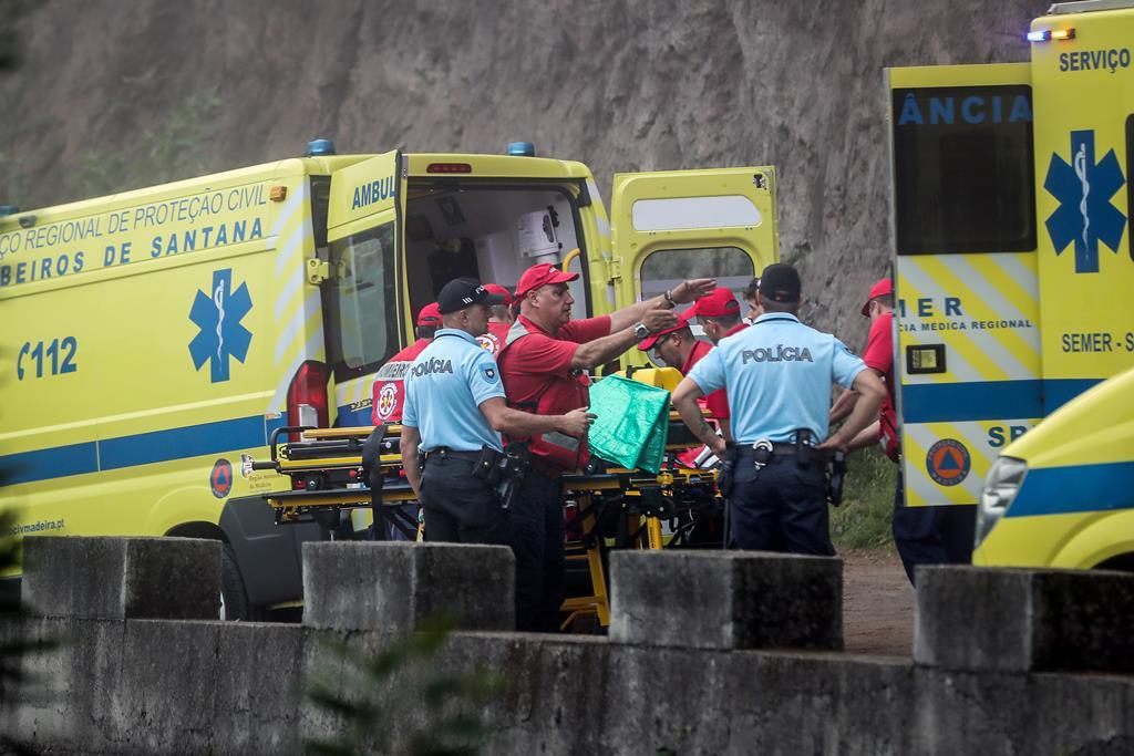 Não foi ainda possível aferir a identidade das vítimas. Foto: Homem de Gouveia/Lusa (arquivo)