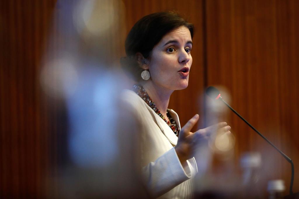 Mariana Vieira da Silva diz não ter havido contradição do primeiro-ministro Foto: António Pedro Santos/Lusa