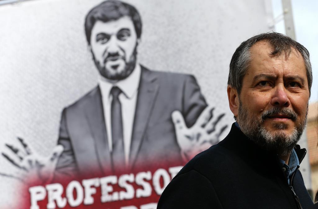 Mário Nogueira, da Fenprof, anuncia protesto nacional no Dia do Professor. Foto: José Coelho/Lusa