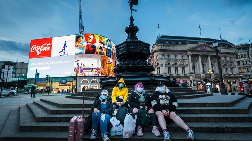 Londres, Reino Unido. Foto: Vickie Flores/Lusa