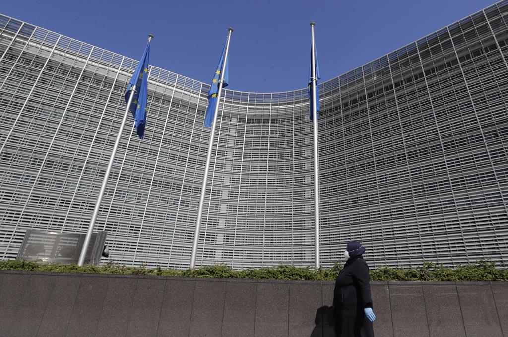 Portugal foi o primeiro Estado-membro a entregar formalmente o plano para aceder aos fundos. Foto: Olivier Hoslet/EPA