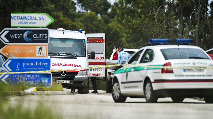 Criança de nove anos foi encontrada morta três dias depois de ter sido dada como desaparecida em Peniche. Foto: Carlos Barroso/Lusa