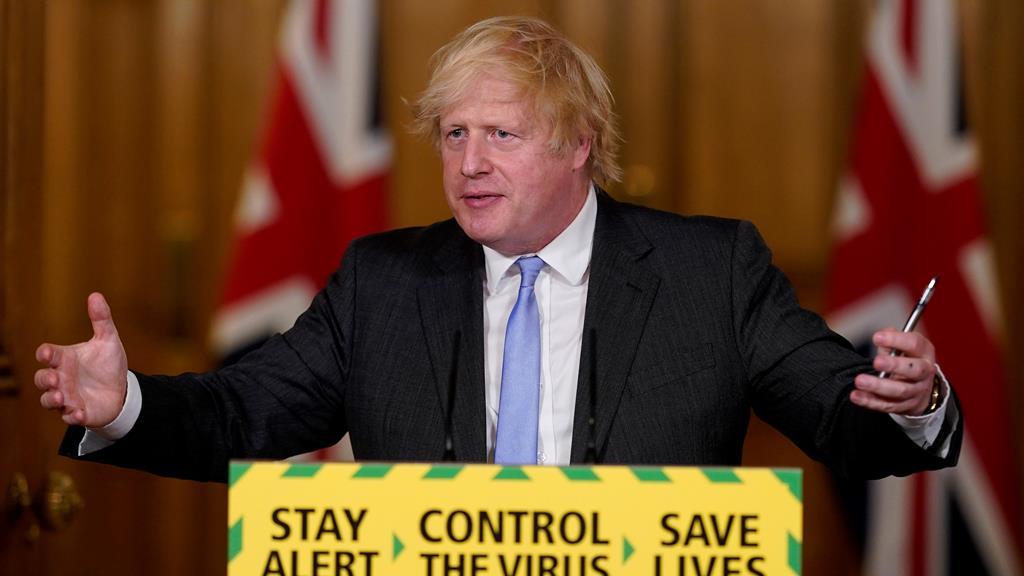Foto: Andrew Parsons/Downing Street/EPA