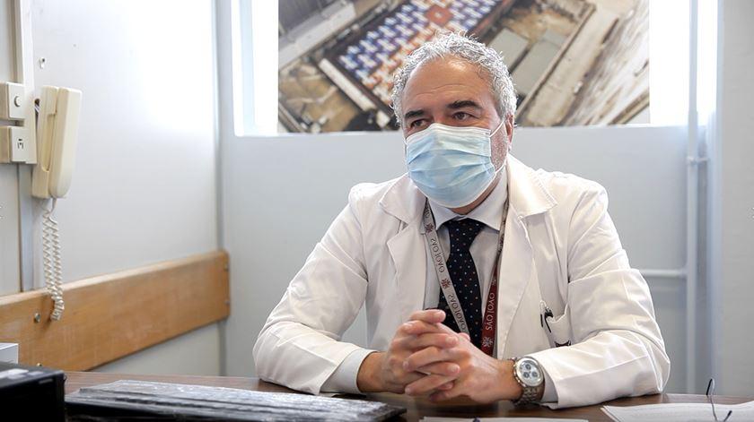 Eduardo Carqueja é o diretor do Serviço de Psicologia do Hospital de São João, no Porto. Foto: Inês Rocha/RR