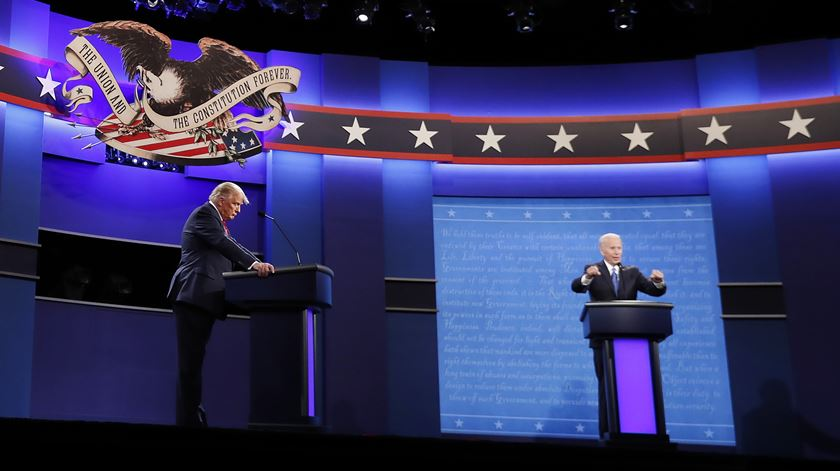 Debate decorreu na Universidade Belmont, em Nashville. Foto: Lusa
