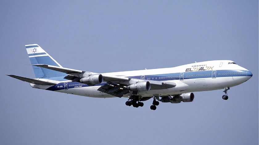 Avião da companhia El Al, de Israel. Foto: Wikimedia Commons