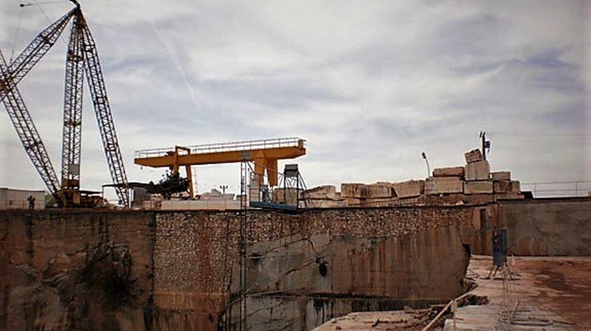 Na empresa de mármores Magratex trabalham 51 pessoas, entre Cascais e o Alentejo. Foto: Magratex