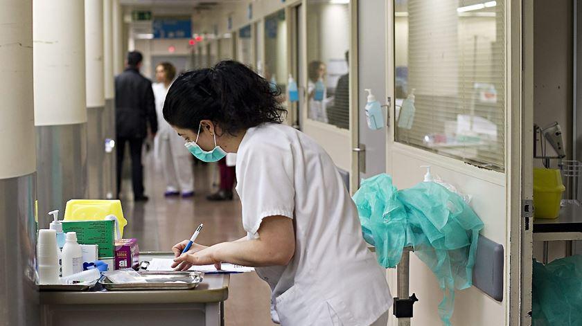 António Costa anuncia contratação de enfermeiros. Foto: DR
