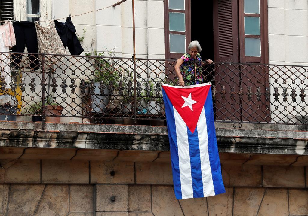 Manifestações em Cuba Foto: Ernesto Mastrascusa/EPA