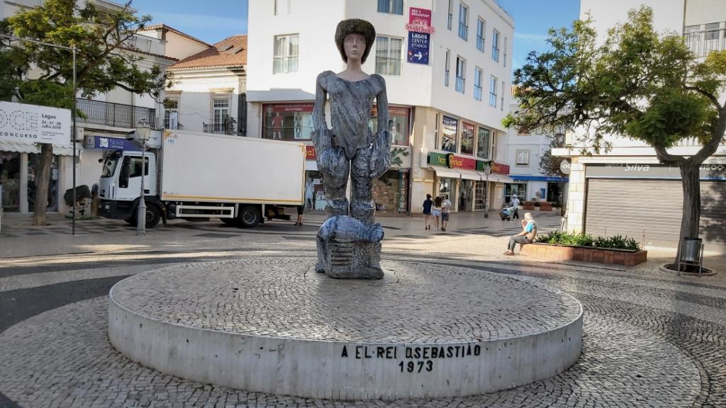 D. Sebastião, uma das criações mais referidas de João Cutileiro. Foto: DR